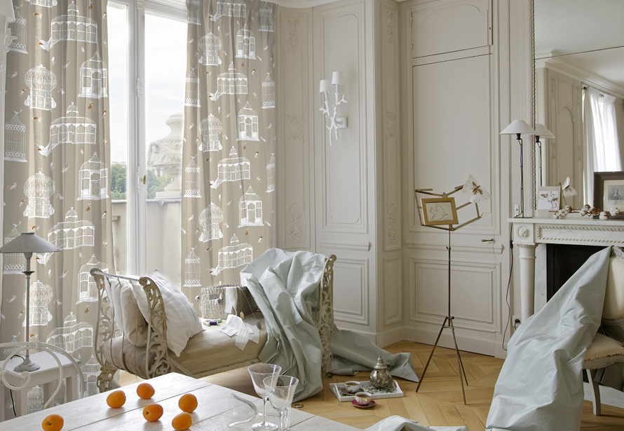 Les rideaux se font legers bien choisir sa tringle rideaux for Tringle rideau cuisine