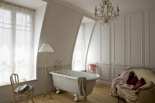 rideaux pour la salle de bain nos id es et conseils. Black Bedroom Furniture Sets. Home Design Ideas