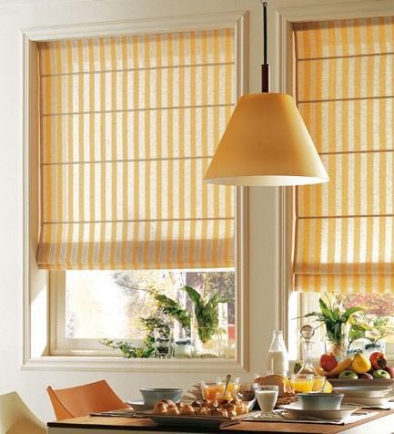 rideaux pour cuisine moderne id es pour choisir le tissu. Black Bedroom Furniture Sets. Home Design Ideas