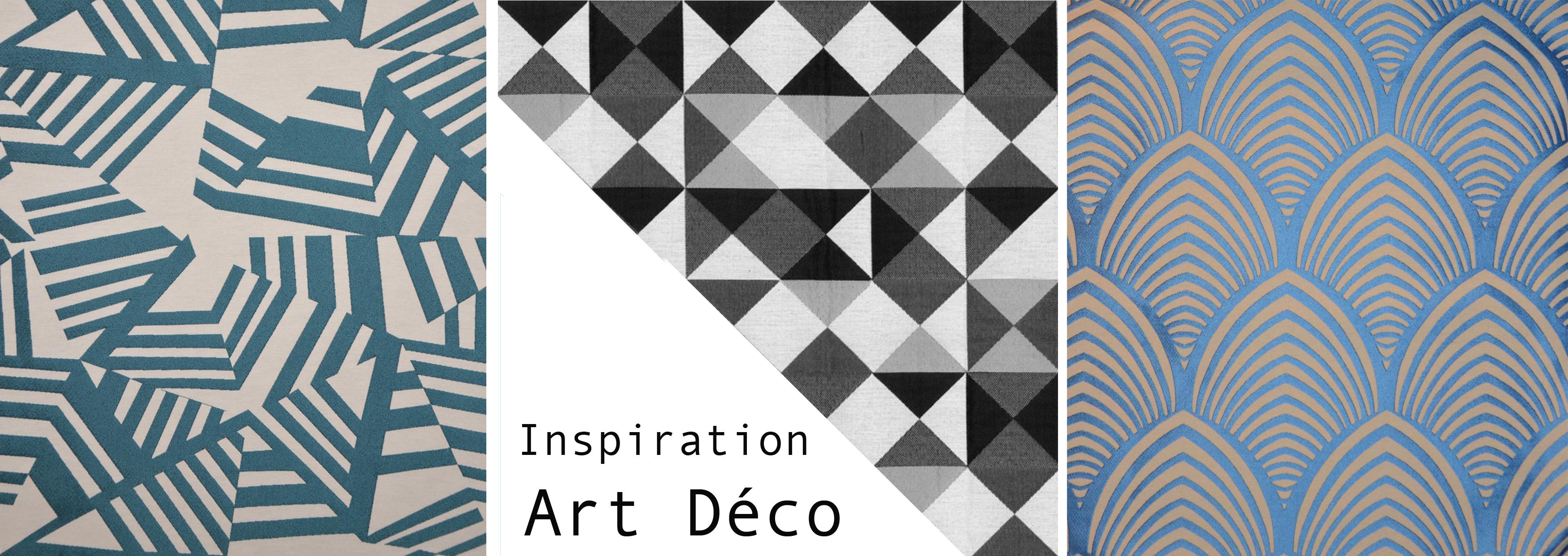 Inspiration art d co pour votre int rieur - Tissu ameublement art deco ...