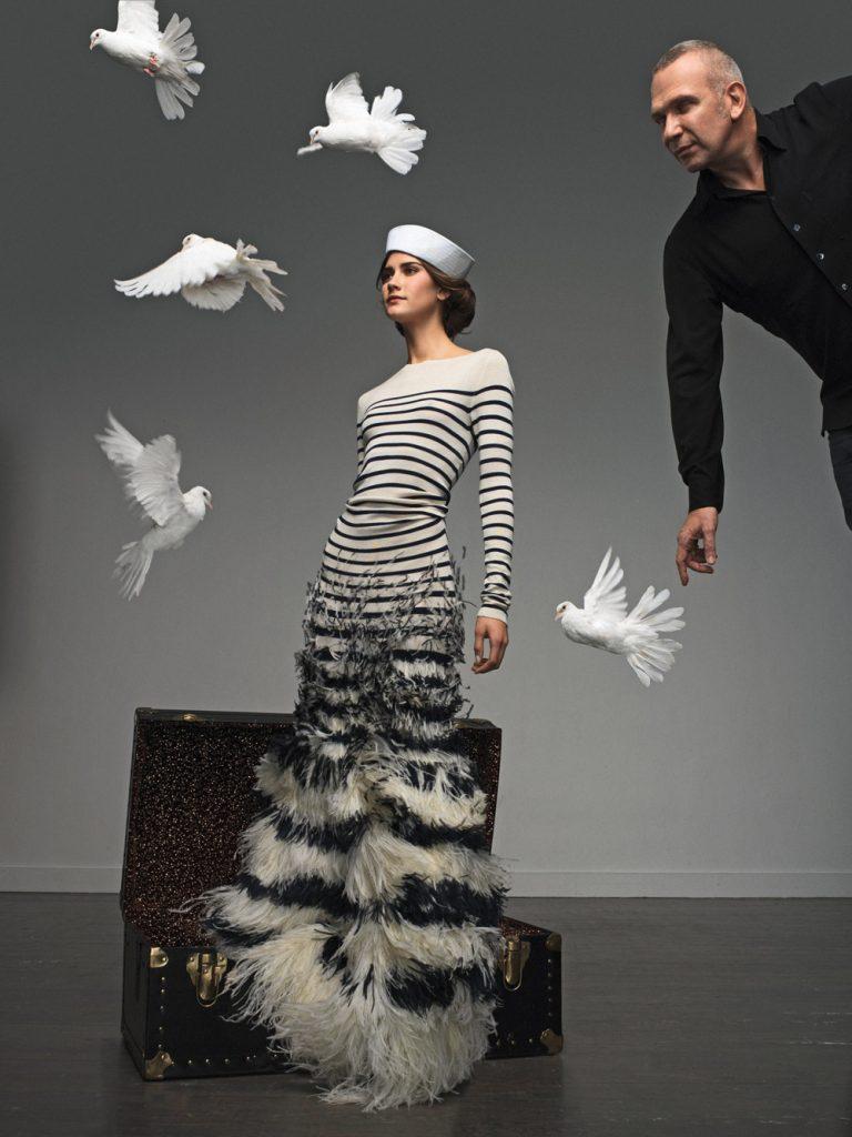 Jean Paul Gaultier : son histoire, ses tissus