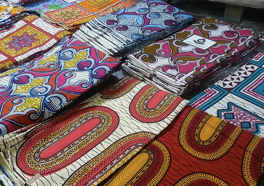 Tissu africain tissu wax africain tout savoir Utilisation de tissus dans le salon