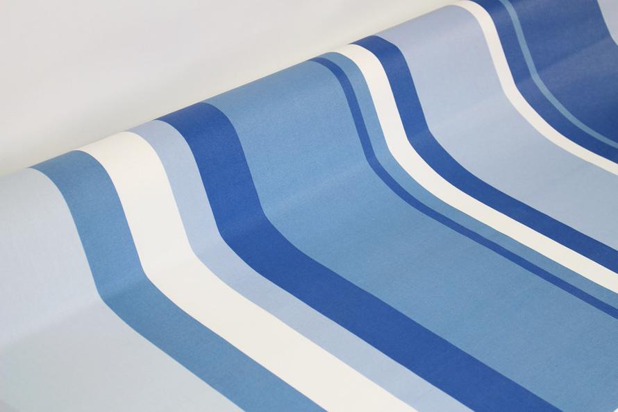 Rayure bleu marine