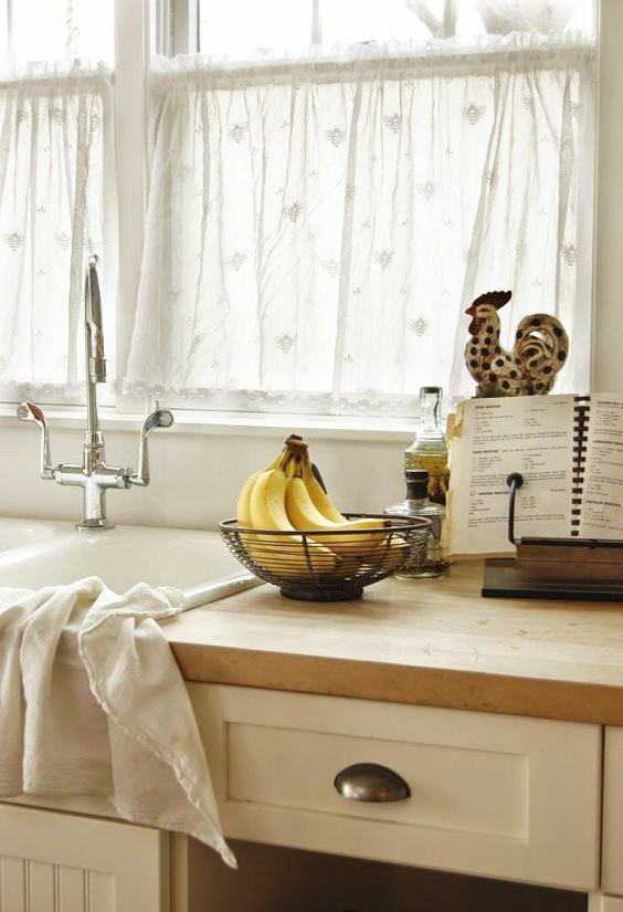 Rideaux Pour Cuisine Moderne Idees Pour Choisir Le Tissu