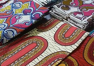 photo de tissus africains