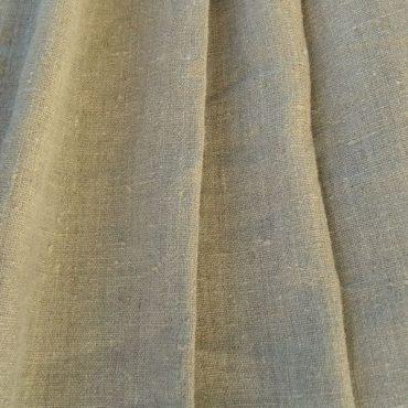 toile de lin couleur gris