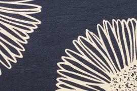 tissu floral moderne et contemporain