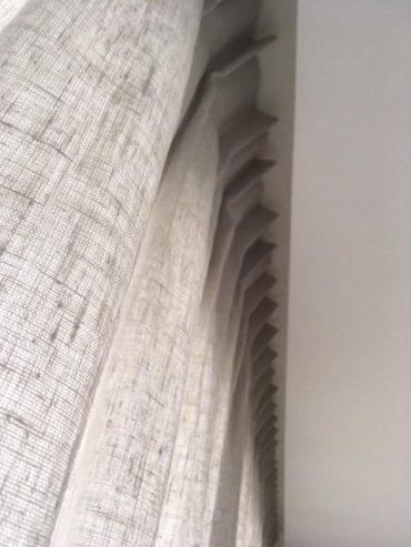 rideau voilage tissu étamine