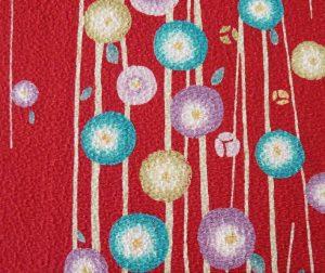 tissu japonais chirimen