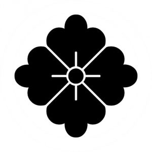 Motif japonais hanabishi
