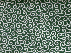 Tissu japonais motif karakusa