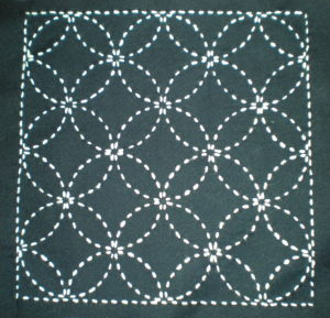 Tissu japonais motif shippô