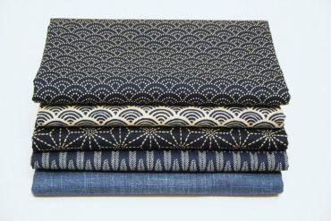 tissus japonais à motifs