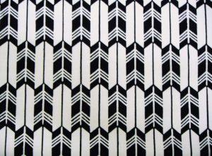Motif japonais flèches yagasuri