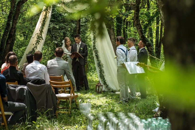 mariage forêt