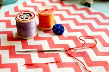 tissu couture fait maison