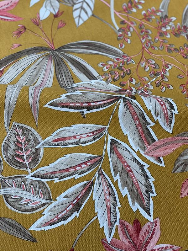 toile indienne fleurs