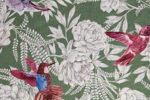 Tissu imprimé oiseaux