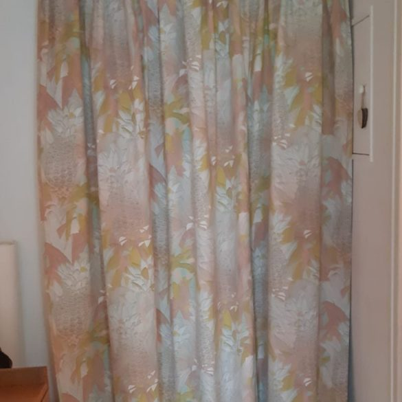 rideau de porte imprimé