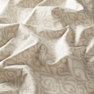 tissu baroque beige