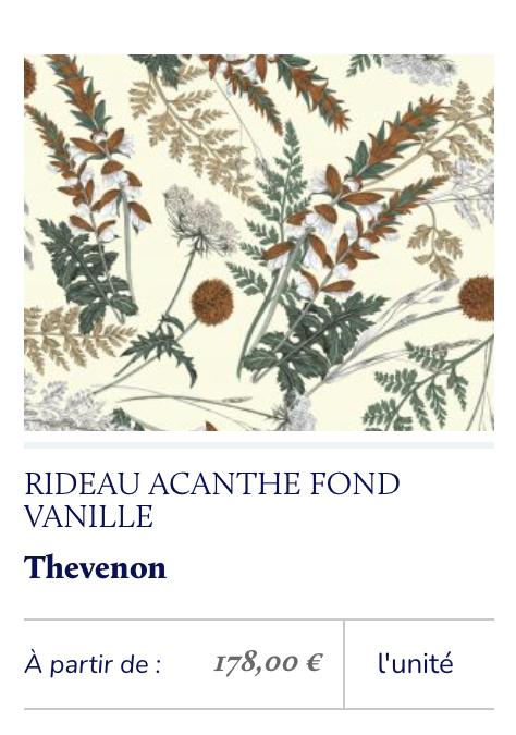 imprimé floral classique