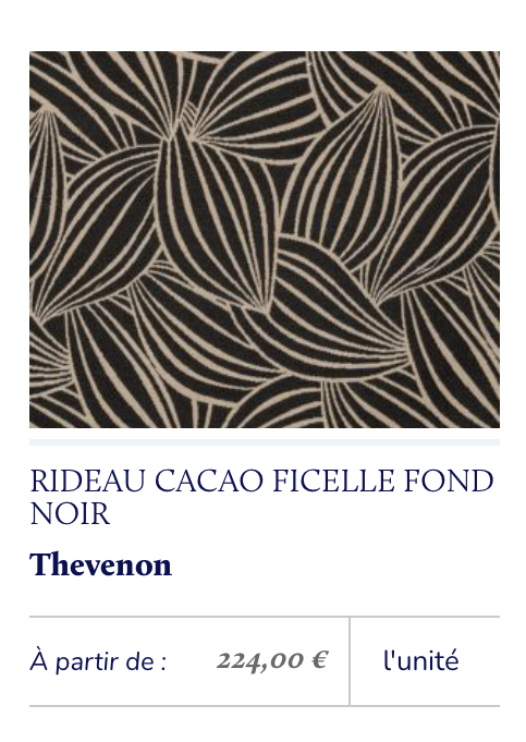 tissu motif stylisé