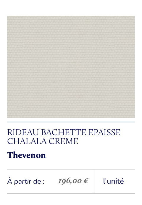 tissu bachette