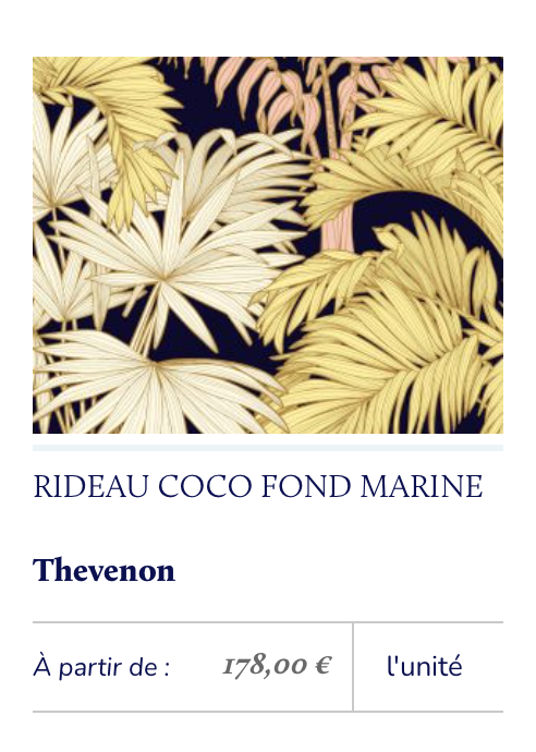 tissu tropical