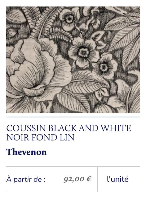 tissu fleurs brodé