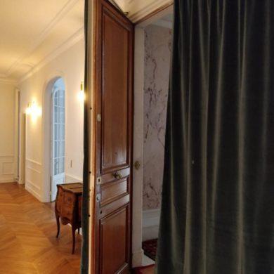 rideau de porte thermique