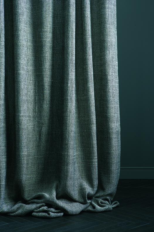 rideau déco gris