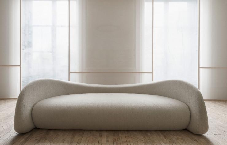 sofa écru