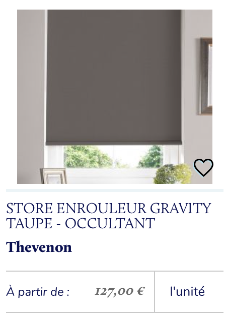 store occultant taupe