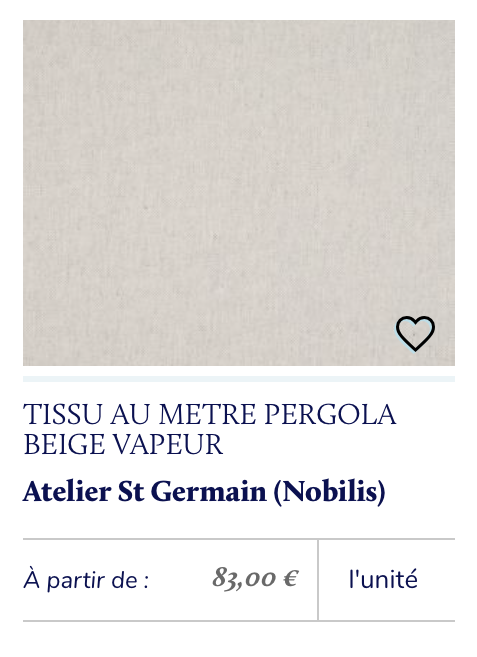 tissu coton simple