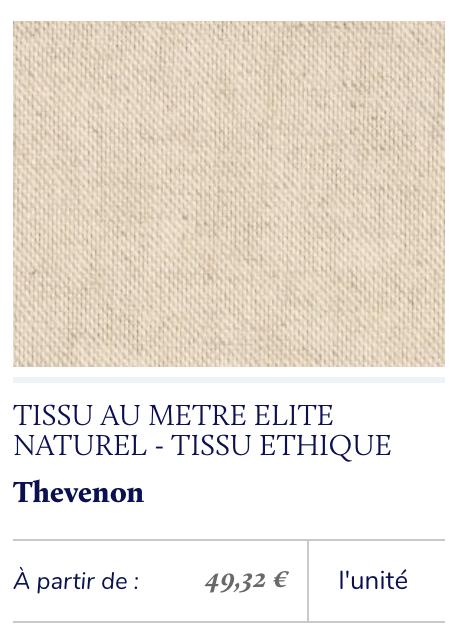 tissu écologique