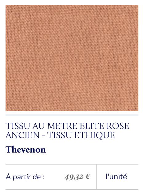 tissu éthique saumon