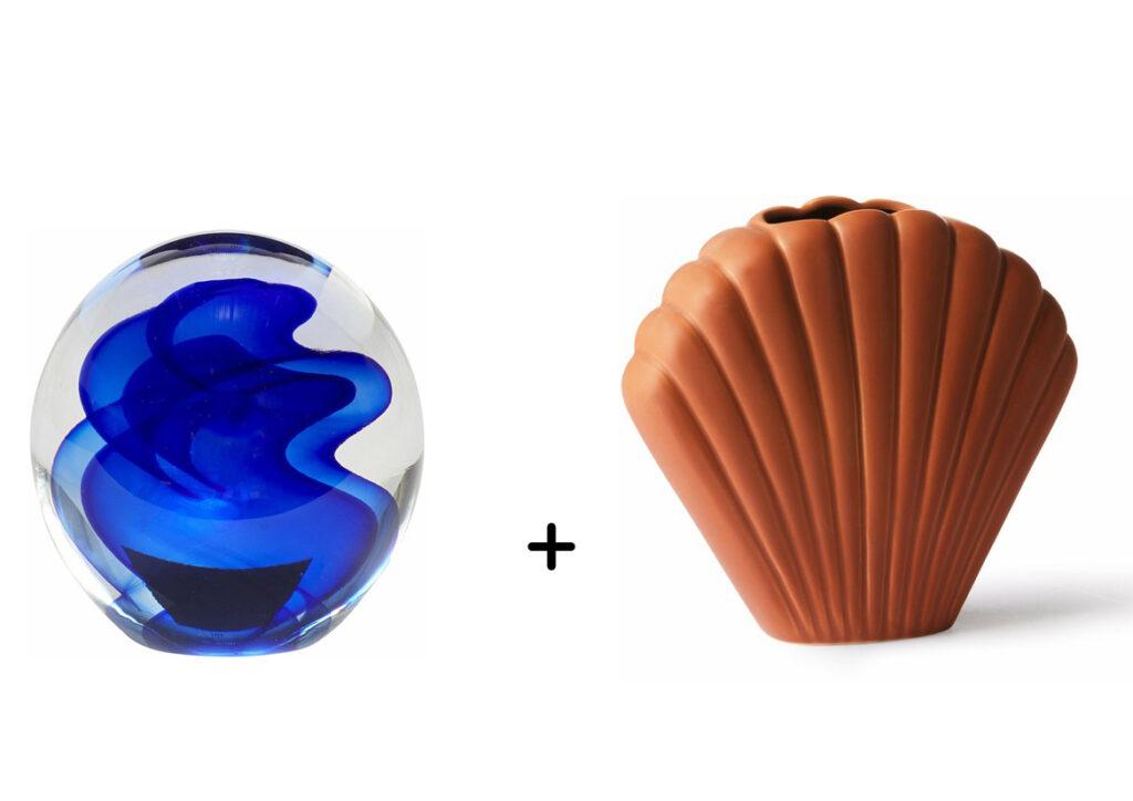 bleu et caramel
